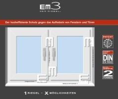 riegel einbruchschutz zum nachr sten f r fenster mit em3 schutzriegel. Black Bedroom Furniture Sets. Home Design Ideas