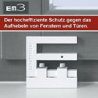 pilzkopfverriegelung einbruchschutzsicherung f r fenster terrassent r. Black Bedroom Furniture Sets. Home Design Ideas
