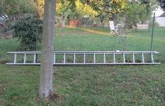 Einbruchschutz Gartenleiter
