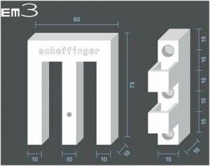 EM3 Fensterriegel Maße
