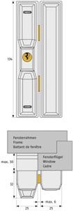 abus fts 88 fenster zusatzsicherung zum einbruchschutz. Black Bedroom Furniture Sets. Home Design Ideas
