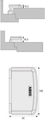 Zusatzsicherung ABUS TAS 112