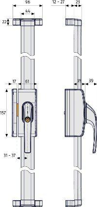 ABUS-FOS-650-Stangenschloss-Maße
