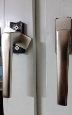 nicht abschließbare Fenstergriffe sind ein Einbruchrisiko
