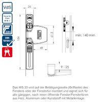 WinSafe WS33 Maße